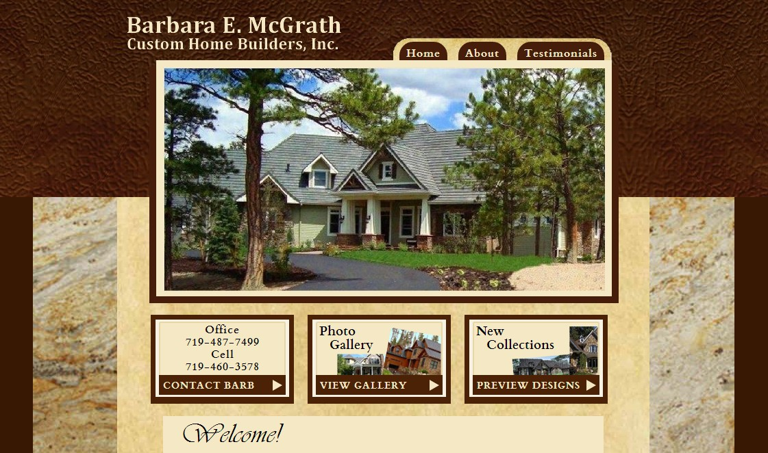 Barbara E. McGrath Custom Home Builder