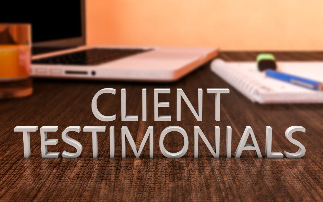 Getting Business Testimonials