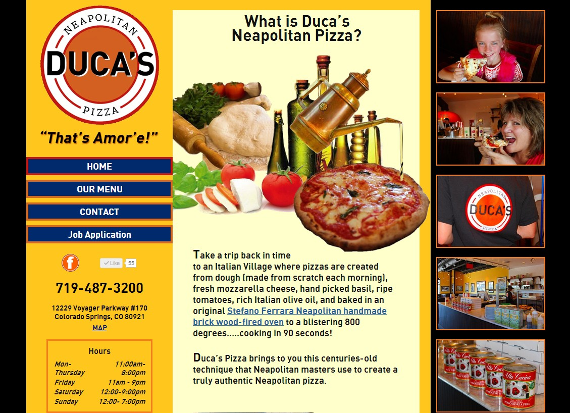 Duca's Pizza