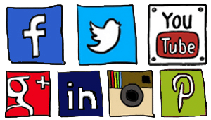Social Media - Quick Links - Websites by Robyn